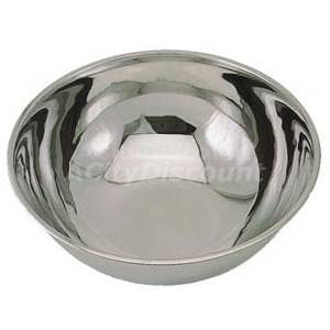 Beautiful stainless steel dog dish - very sanitary, very rattly.